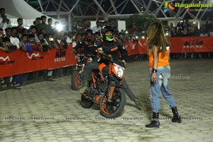 KTM Stunt Battle Hyderabad