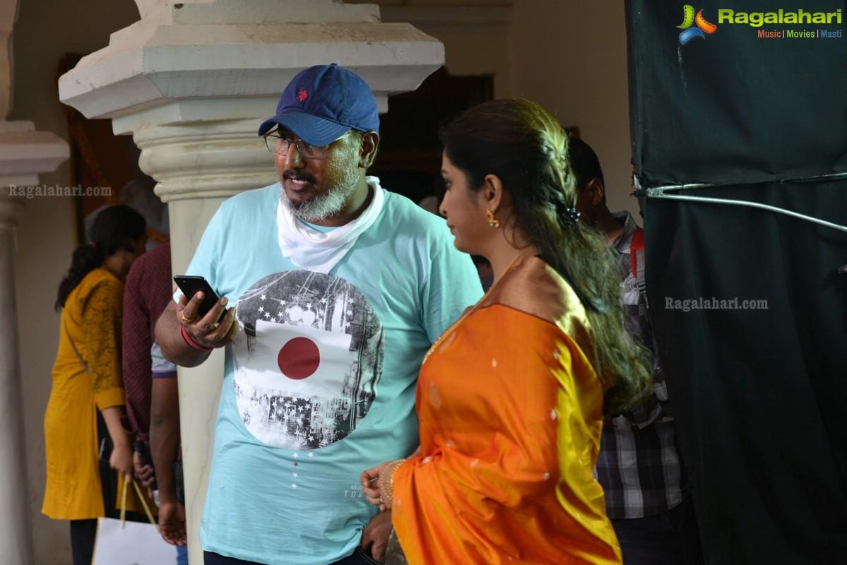 Nara Rohit Balakrishnudu Movie First Look Ultra Hd Posters: Balakrishnudu Working Stills