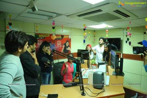 Husharu Team at Radio Station Red FM Rajahmundry