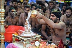 Sharwanand Performs Ayyappa Maha Padi Pooja