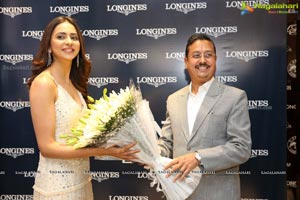Longines Presents Its Record Collection With Rakul