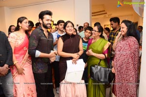 Hero Ram Inaugurates 'Heartists Arti Mahotsav' Gallery