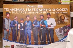 TS Ranking Snooker & Billiards Championship 2018