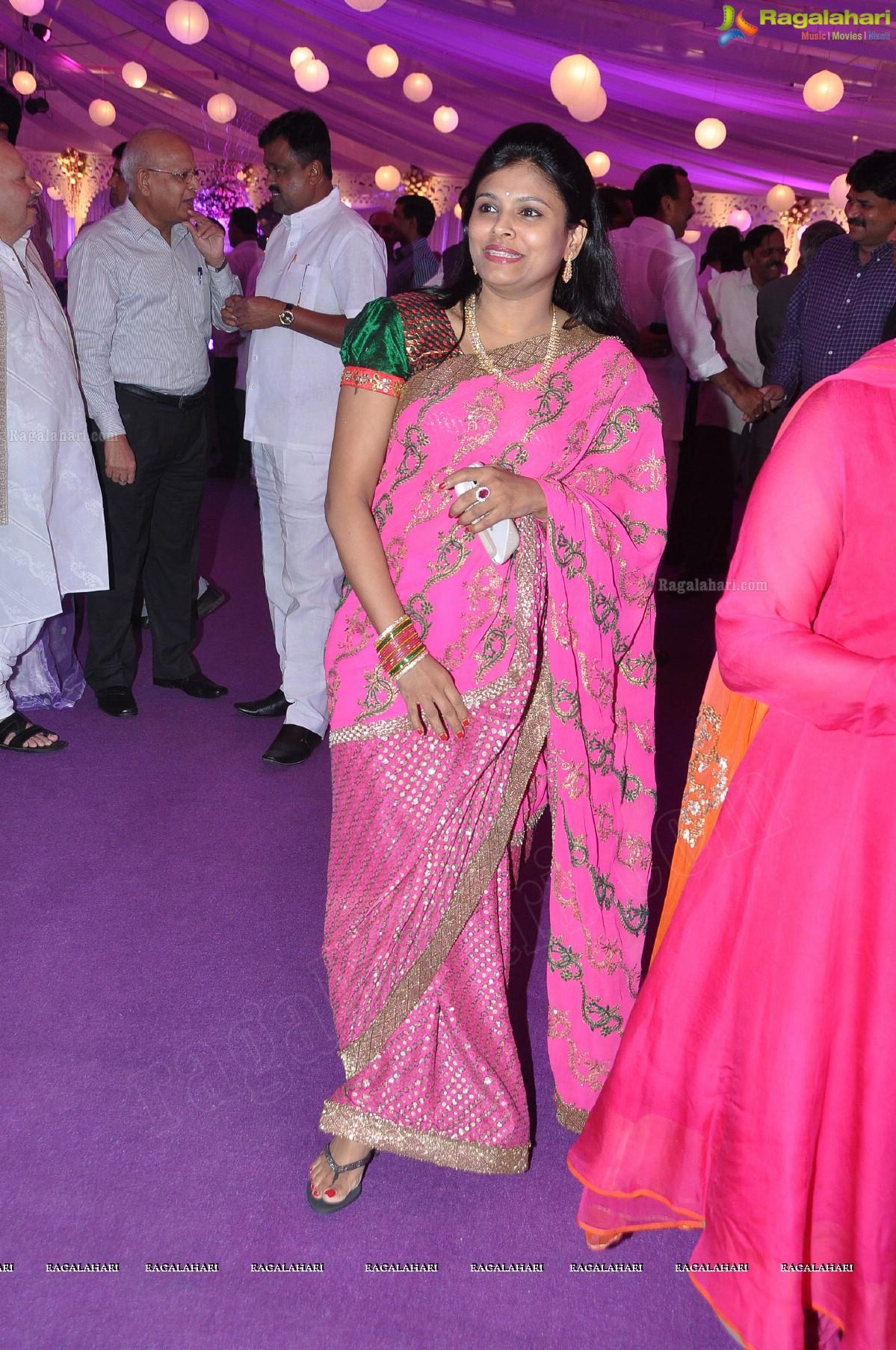 Vishnu and shweta wedding