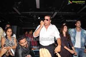 Akshay Kumar at Kismet Pub, Hyderabad