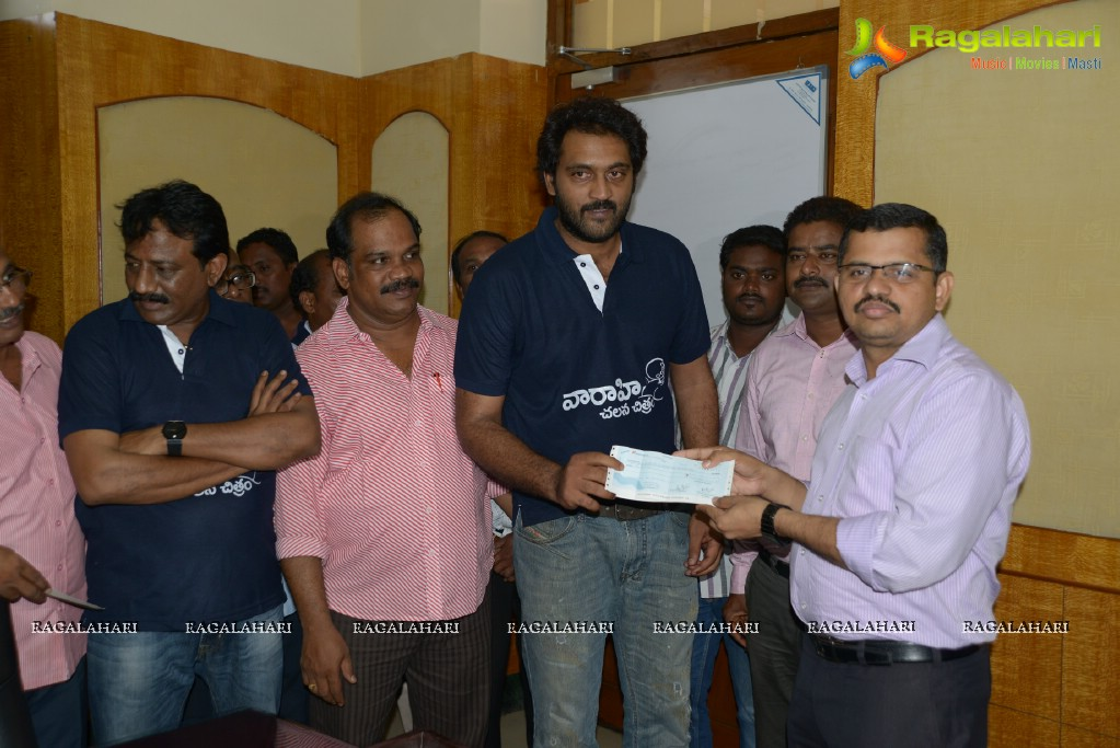 Ajay donated 1 Lakh to Vizag HudHud Relief Fund