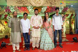 Bhupal Raju-Manogna Wedding Reception