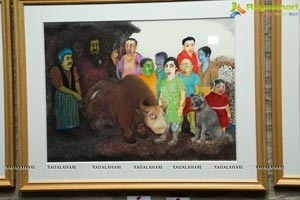 Viraj Naik Art Exhibition
