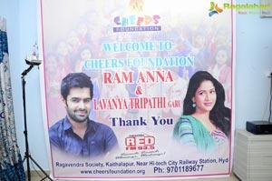 Ram Lavanya Tripathi Cheers Foundation