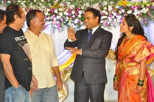Comedian Harish Wedding Reception