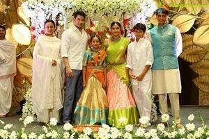 Mahesh Babu Niece Jahnavi Half Saree Function
