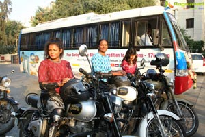 Bathukamma Ride 2018 To Promote Women's Safety