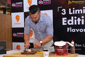 Cream Stone Collaborates with Swiggy and Ben Ungermann