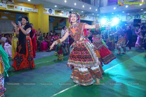 Raas Garba by Junior Samarpan at Gujarati high School
