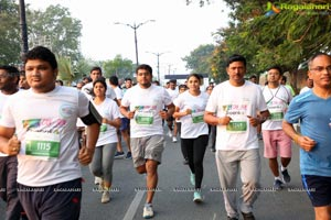 Cancer Run By Grace Cancer Foundation at Necklace Road