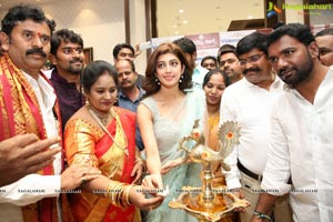 Pranitha, Naini Narshimha Reddy Inaugurates Videms Silks