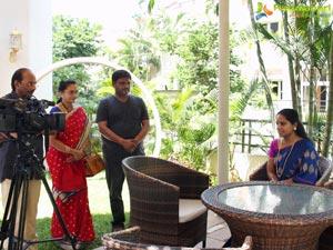 TRS MP Kavitha Sri Valli Team