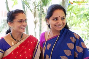 TRS MP Kavitha Sri Valli Team