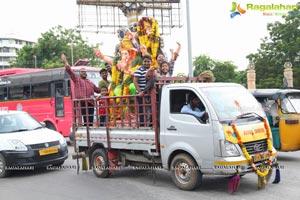 Exclusive Photos Ganesh Immersion 2017 Hyderabad