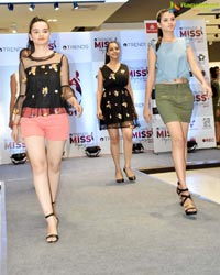 Unveiling of Finalist of Trends Miss Hyderabad 2017