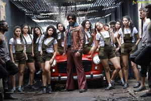 KGF Telugu Cinema Stills