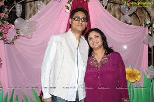 Sonali Sharma Daughter Shanaya 1st Birthday