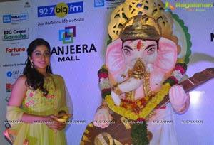 Regina Cassandra at 92.7 BIG FM Big Green Ganesh